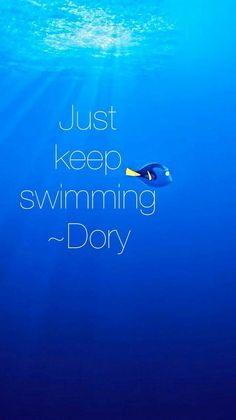 Cartoon Quotes, Movie Quotes, Quote Backgrounds, Wallpaper Quotes, Dory Just Keep Swimming, Disney Love Quotes, Disney Phone Wallpaper, Disney Movies, Disney Disney