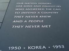Korean War *** We must carry on what they did.  What brave soldiers our Americans were!