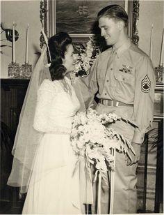 Lisa and Paul, Missouri, 1945