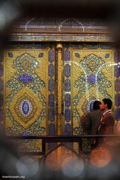 Door to the tomb of Hussein - Karbala - Iraq