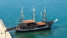 Griechenland, Thessaloniki, Segelschiff