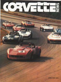 Can-Am Corvette - Bing Images 1976 Corvette, Corvette Summer, Chevrolet Corvette, Vintage Race Car, Vintage Ads, Vintage Posters, Vintage Photos, Sport Cars, Race Cars
