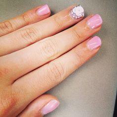 <3 girly nails by monserrat carrera