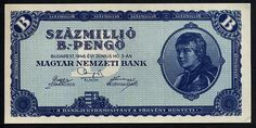 Vintage Hungary Paper Money