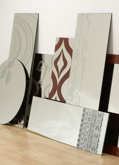 Etched mirror design