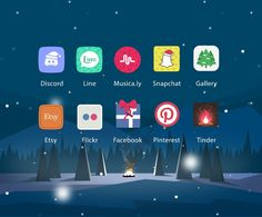 Christmas Valley  Icon pack for Android https://play.google.com/store/apps/details?id=com.xpack.circo.graphicvalley