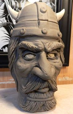 Viking Beer Mug by thebigduluth
