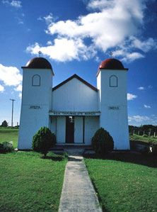 Ratana Church, Te Kao. Nz History, History Images, Maori Art, New Zealand, Places To Visit, Photographs, Culture, Explore, Mansions