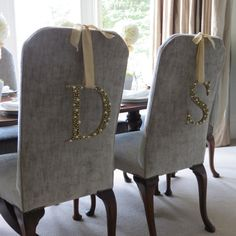 Bespoke Pearl and Gold Encrusted Initial Letter by byAriellaRose, £15.00
