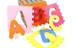 Foam Alphabet Mats are soft and safe DIY puzzle mats that your kids are sure to love!! Help teach the alphabet with this fun foam floor mat from FoamTiles.com