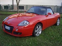 Fiat Barchetta: Small convertible Italian car, left hand drive only sadly.
