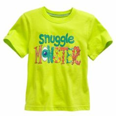 "Jumping Beans ""Snuggle Monster"" Tee - Toddler"