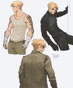 """solkorra: """"my babies """" Fantasy Character Design, Character Creation, Character Drawing, Character Design Inspiration, Character Concept, Concept Art, Dnd Characters, Fantasy Characters, Handsome Anime Guys"""