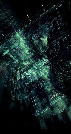 cyberizedflesh:  Bank Security by Ikaruga
