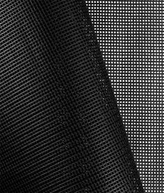 Shop  Black 9x9 Vinyl Coated Mesh Fabric at onlinefabricstore.net for $5.45/ Yard. Best Price & Service.