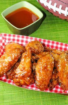 Crispy Sriracha Chicken Wings- Tasty Bites for the Big Game Recipe Round-Up