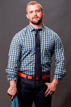 5ee2fe38d Blue & Grey Heather Check Shirt - Teddy. Estilo MasculinoModa  HombreVestimentasModa MasculinaHombresHacer CamisetasModa De ...