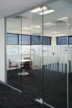 Specialist contractors for glass screens, glass doors, demountable partitions and firescreens to the construction, education and commercial industry. Glass Office Doors, Glass Partition Wall, Glass Curtain Wall, Glass Hinges, Sliding Glass Door, Glass Doors, Glass Wall Design, Door Design, Modern Office Design