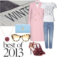 Kurshuni into the pink Street Chic, Polyvore, Pink, Image, Fashion, Moda, Fashion Styles, Fasion, Roses