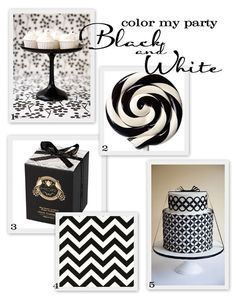 black + white party