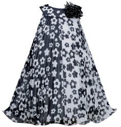 Flower Colorblock Crystsal Pleat Chiffon Trapeze Dress BW3NA Bonnie Jean Little Girls Special Occasion Flower Girl Holiday BNJ Social Dress, Black/White Bonnie Jean http://www.amazon.com/dp/B00KEC6V3E/ref=cm_sw_r_pi_dp_jhGKtb014DEQZQ7R