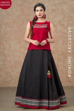 Long Skirt Top Designs, Long Skirt And Top, Long Dress Design, Stylish Dress Designs, Long Skirts, Indian Fashion Dresses, Dress Indian Style, Indian Outfits, Kurta Designs