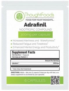 ThoughtFoods Free Adrafinil Nootropic Sample - US