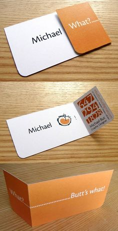 Michael But Business Card