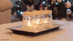Design by Suzi: ❆ Svietniky ❆ Jar Lanterns, Candle Holders, Decorations, Candles, Design, Dekoration, Porta Velas, Candy