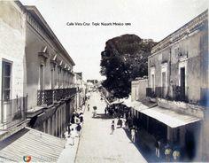 Calle Veracruz Hacia 1900