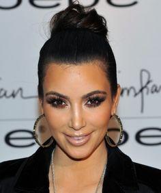Kim Kardashian Has Permanent Mink Eyelash Extensions - Softpedia Permanent Eyelash Extensions, Permanent Eyelashes, Mink Eyelash Extensions, Fake Eyelashes, Hair Extensions, Wispy Lashes, Long Lashes, Kim Kardashian Makeup Looks, Kardashian Beauty