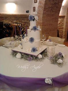 Rose Lilla # lilac roses# Cake Designer: Lara Costantini