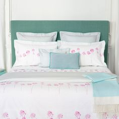 Inspirations Yves Delorme Spring-Summer 2017 Collection #rivages bed linens.