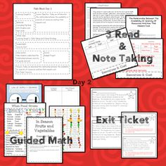 This teaching unit teaches 6 skills Problem Solving Activities, Teaching Activities, Student Data, Student Learning, Math Blocks, Data Tracking, Math Talk, Learning Targets, Math Words