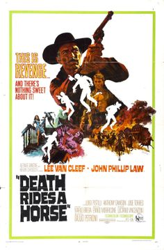 """horse movie posters   thebad.net - The Lee Van Cleef Blog: """"Spaghetti Westerns Unchained ..."""