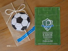 Convite/Festa futebol/Festa de menino/Soccer Birthday Party