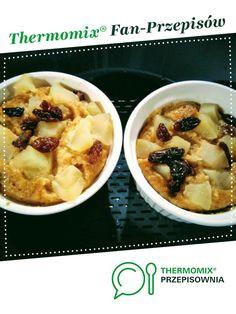 Deser owsiano-jabłkowy gotowany na parze jest to przepis stworzony przez użytkownika Elwira7832. Ten przepis na Thermomix<sup>®</sup> znajdziesz w kategorii Desery na www.przepisownia.pl, społeczności Thermomix<sup>®</sup>.