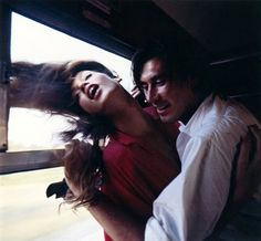 Jerry Hall and Brian Ferry