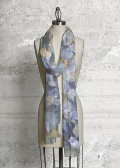 A beautiful and unique modal scarf that is perfect for your collection! Shop artistic modal scarf's created by designers all around the world. Print Patterns, Tie Dye, Bodycon Dress, High Neck Dress, Silk, Chic, Fabric, Outfits, Shopping