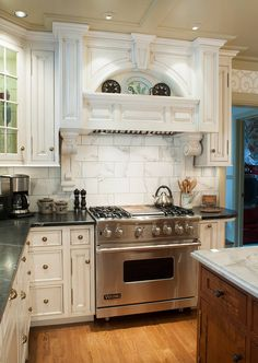 Custom kitchen cabinetry made in Amish country, Ohio.