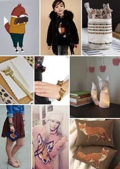 Mood Board Monday: Fox Fashion and Decor
