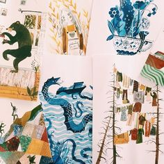"""""""At Red Cap Cards we are very fortunate to work with the best artists from all over the world. We also receive so many beautiful artist submissions. I had to share this lovely work by @madelinekloepper. I hope we get a chance to work with all of you. #amazing #art #illustration #gratitude #beautiful #ilovemyjob"""" Photo taken by @redcapcards on Instagram, pinned via the InstaPin iOS App! http://www.instapinapp.com (08/13/2015)"""