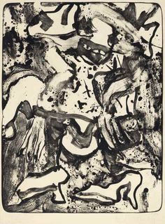Find the latest shows, biography, and artworks for sale by Willem de Kooning. A first-generation Abstract Expressionist, Willem de Kooning is one of the most… Willem De Kooning, Rotterdam, New York School, Action Painting, Ink Painting, Jackson Pollock, Museum Of Modern Art, White Art, Surrealism