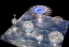 """Big Bang Discovery Opens Doors to the """"Multiverse"""" Gravitational waves detected in the aftermath of the Big Bang suggest one universe just might not be enough. Bored with your old dimensions—up and. Theoretical Physics, Quantum Physics, Big Bang, Stephen Hawking, Carl Sagan, Cosmos, Gravitational Waves, E Mc2, Magazine Illustration"""
