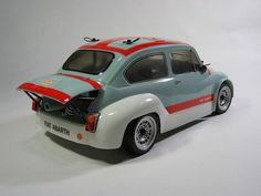 Gas powered Tamiya Fiat Abarth by Grahoo, via Flickr