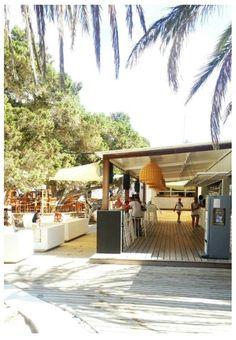 The bar @ Cala Bassa Beach Club #Eivissa #ibizabar #beachclub