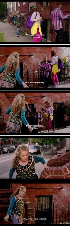 If you haven't watched 'Unbreakable Kimmy Schmidt' do because it is amazing!