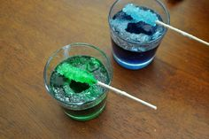 DIY Rock Candy- Janek this is the one we want. Click on Heidi's tutorial link at the bottom for the recipe :-)