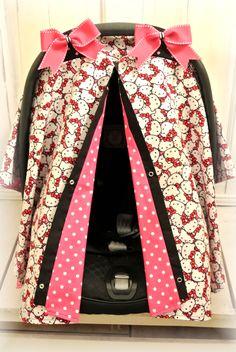 Hello Kitty Baby Canopy Covers Etsy.com/shop/JaydenandOlivia