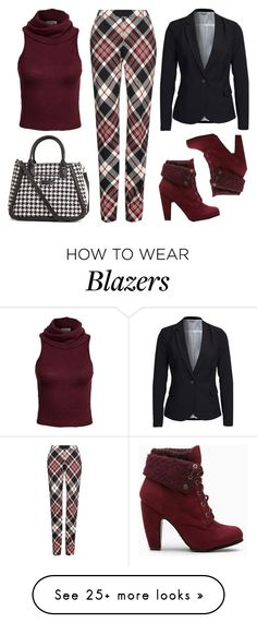 """Fall Pattern Mixing"" by mmmartha on Polyvore featuring Vera Bradley, Alexander McQueen, Glamorous and Vero Moda"